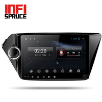 Android 7 1 Car Dvd GPS Navigation For Kia K2 RIO 2010 2015 With Octa Core