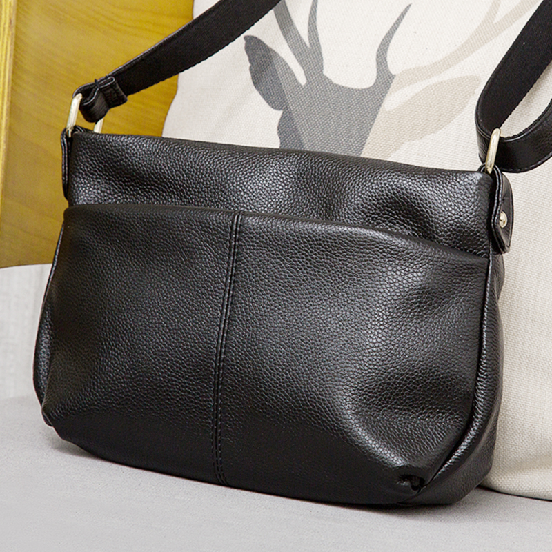 Luxury Famous Brands Simple Cow Leather Women Bag 100% Genuine Leather Handbag Tote Shoulder Shoulder & Crossbody Bucket Bag women crocodile embossed bag handbags 100% genuine cow leather for women handbag flaps shoulder tote messenger bag famous brands