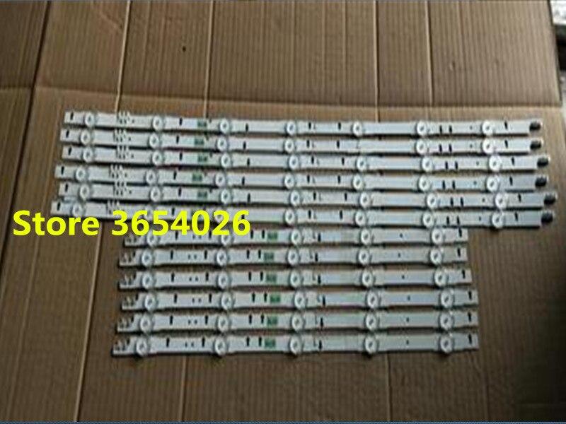12PCS set LED strip for samsung UE55H6670 UE55ES6530 2014SVS55 D4GE 550DCA R3 D4GE 550DCB R3 5