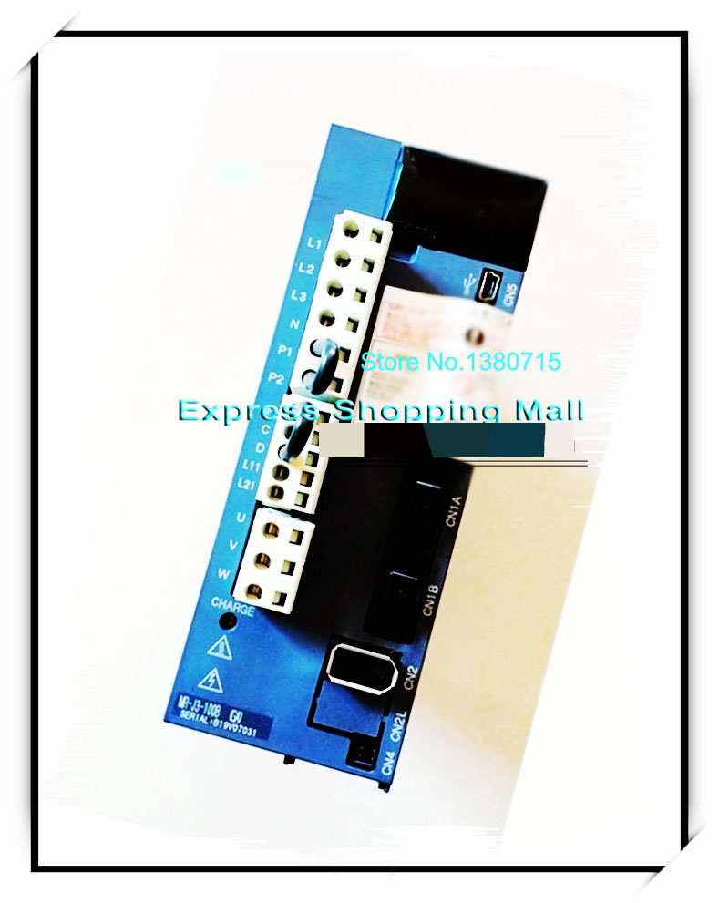 New Original MR-J3-100B 3PH AC220V 1KW SSCNET III AC Servo Drive new original motor driver mr j3 350a 3ph ac220v 3 5kw ac servo drive