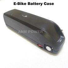 Boîte de batterie de vélo électrique 36V 48V avec 5V USB 48V/36V HaiLong boîtier de batterie e bike et support peut contenir 65 pièces 18650 batterie