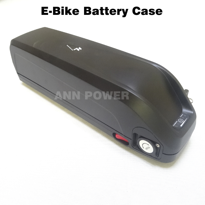 Free Shipping 36V electirc bicycle battery box with 5V USB plug 36V HaiLong Battery plastic case