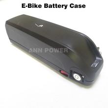 El Envío Gratuito! 36 V caja de batería electirc bicicleta con 5 V USB enchufe 36 V Batería caja de plástico puede contener HaiLong Max 65 unids 18650 células