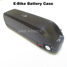 Freies Verschiffen! 36 V electirc fahrrad batterie box mit 5 V USB stecker 36 V HaiLong Batterie kunststoff fall Max 65 stücke 18650 zellen