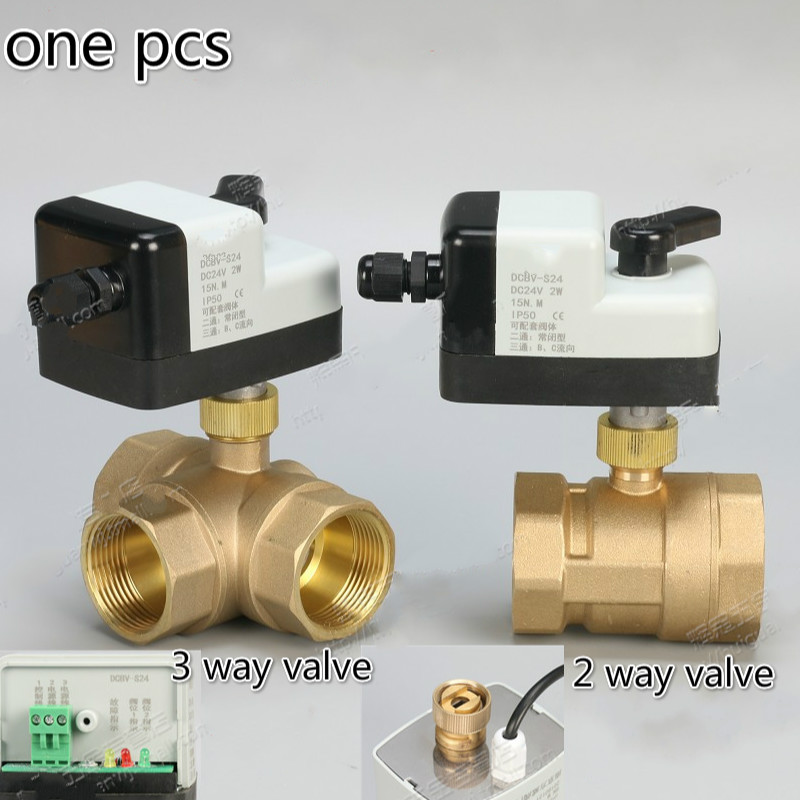 где купить DC24v 2 way 3 way brass Motorized Ball Valve electric actuator brass ball valve ball valve electric DN15 DN20 DN25 DN32 DN40 дешево