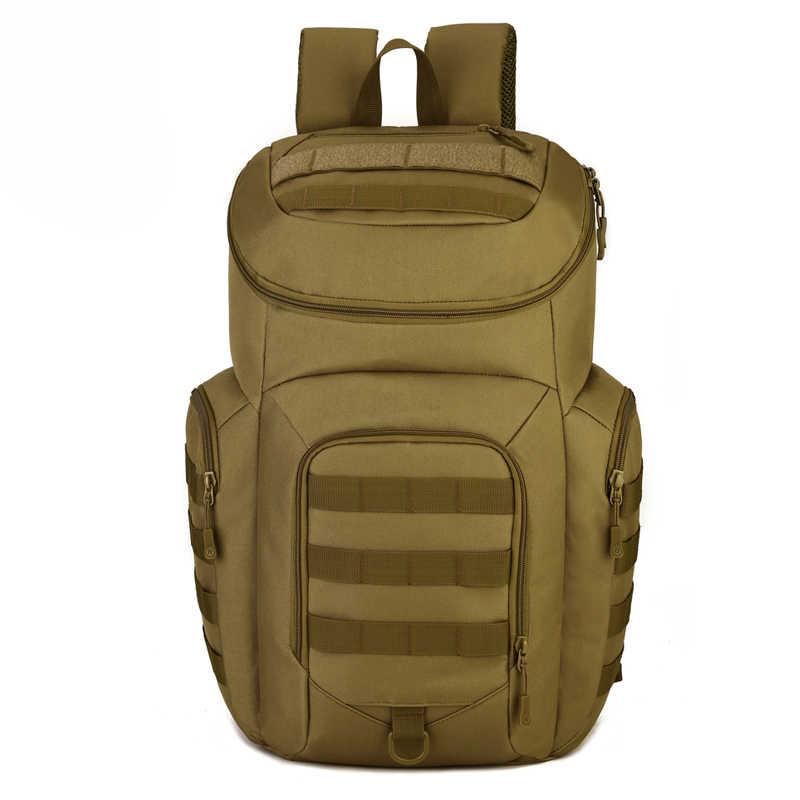 Kualitas Tinggi 40L Ransel Taktis Militer Molle Tahan Air Assault Pack untuk Wanita untuk Pria Ransel Outdoor Hiking Berburu Tas