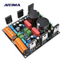 AIYIMA 1 paire 25W hotte 1969 amplificateur carte Audio 2SC5200 HD1969 classe A amplificateurs de puissance ampli avec 1083 régulateur de tension