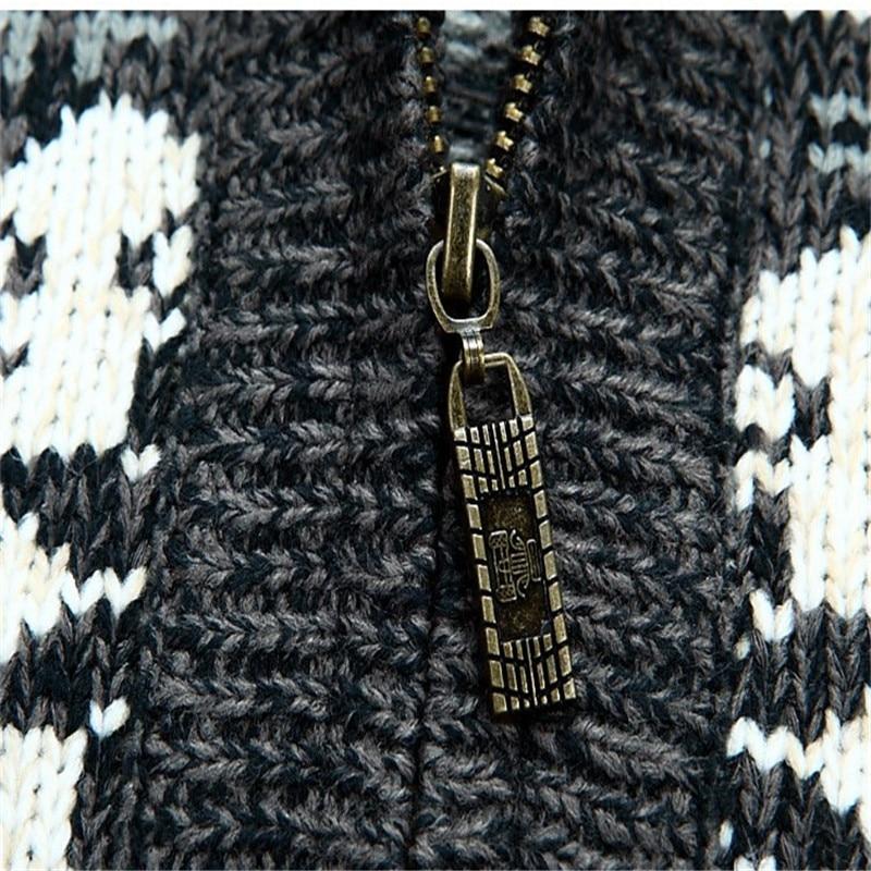 fd6ab4d14409 NIANJEEP Marke Dicken Neuen Weiß Blau Grau Männer Langarm Winter pullover  Jacken Mann 30% Wolle Blume Pullover Männer A0373 in NIANJEEP Marke Dicken  Neuen ...