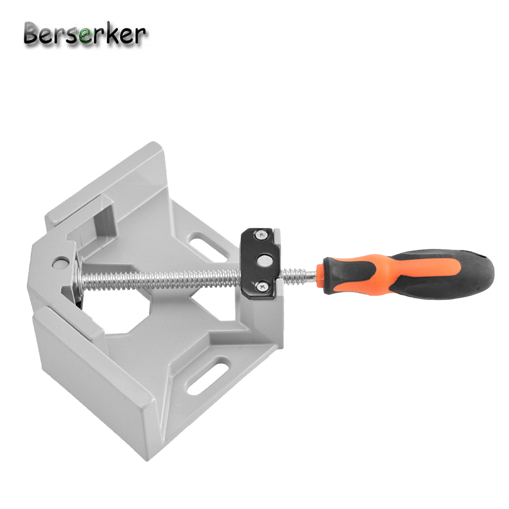 Berserker Angle Vise Aluminum Alloy body Right Angle vice Pliers Vertical Flat Clamp Fast Double Handle Right Angle Clamp