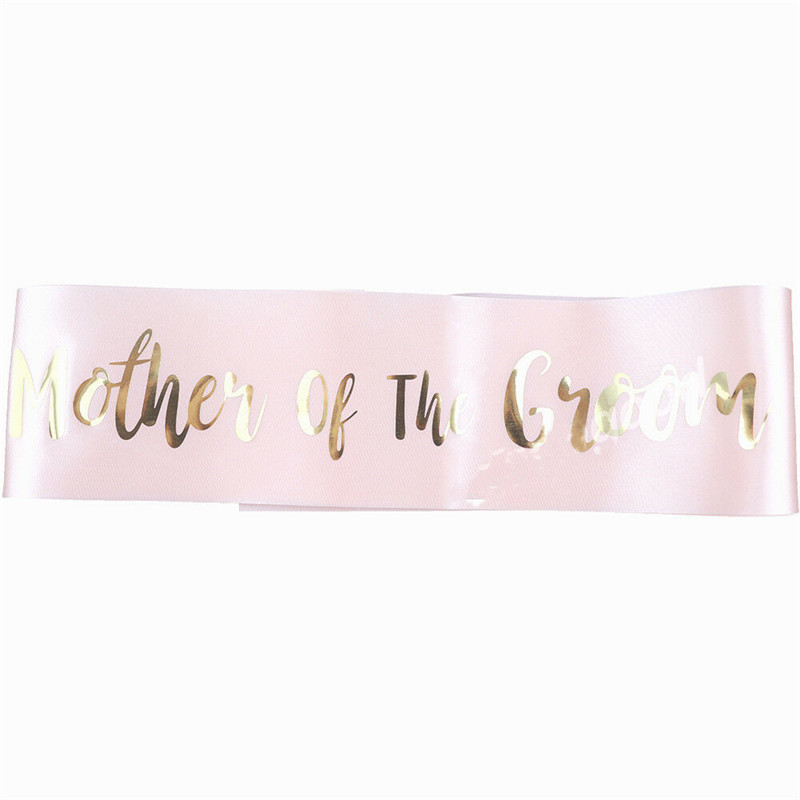 Pink Hot Stamping Bride Etiquette With Bride To Be Sash Bachelor Party Bridesmaid Team Bride Shoulder Strap Girl Beautiful Charm (6)