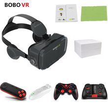 BOBOVR Z4 Leather 3D Cardboard VR Glasses 2.0 Virtual Reality Helmet 3D glasses Cardboard bobo vr headset For 4.3-6.0 smartphone