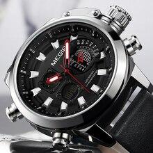 New MEGIR Watch Top Brand Luxury Men Digital LED Quartz Watches
