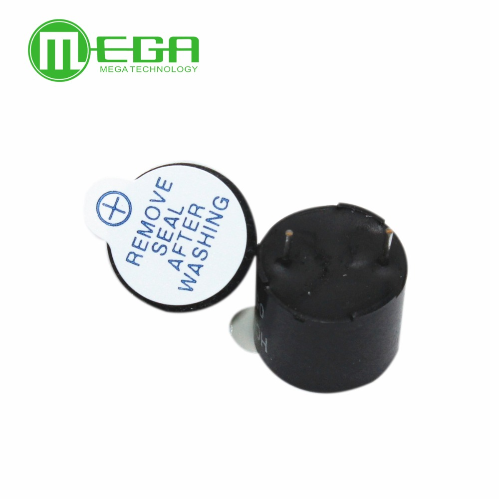 Free shipping 50pcs Active Buzzer Alarm 5V Sounder speaker BuzzerR IC 36V 600mA