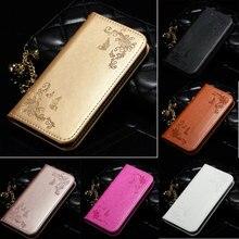 Кожаный флип-чехол для iPhone 6 s 5 5S SE, 6, 7, 8, huawei P8 P9 Lite samsung A3 A5 A7 J3 J5 J7 Чехол-Кошелек на телефонные чехлы