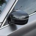 Автомобильный Стайлинг для BMW 5 серии G30 2017 2018 углеродное волокно АБС матовый глянцевый автомобиль заднего вида крышка зеркала боковой двери...
