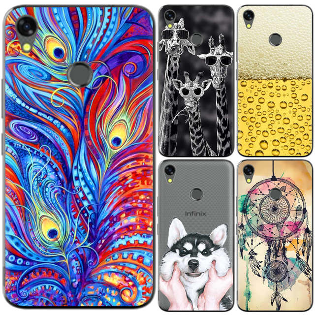 low priced 4c51d ebb02 US $0.99 20% OFF|Phone Case For Infinix Hot 5 X559C Hot5 5.5 inch Cute  Cartoon High Quality Painted TPU Soft Case Silicone Cover-in Fitted Cases  from ...