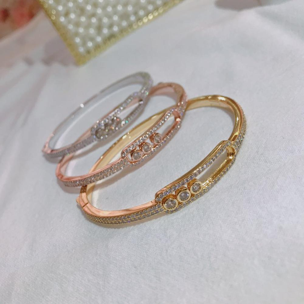 Hot goods, s925 sterling silver ball bracelets, luxury jewelry, parties, banquets, couple classic fashion lady bracelets