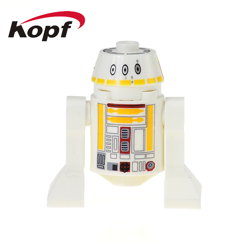 Single Sale Building Blocks R2D2 BB8 RSF7 Star Wars Smart Robot C110P RSJ2 Classic Set Bricks Education Toys for children XH 530