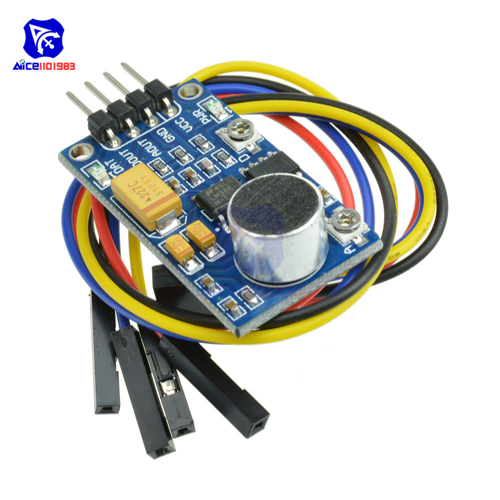 Microphone Sound (Voice) Detector module, sensor, with