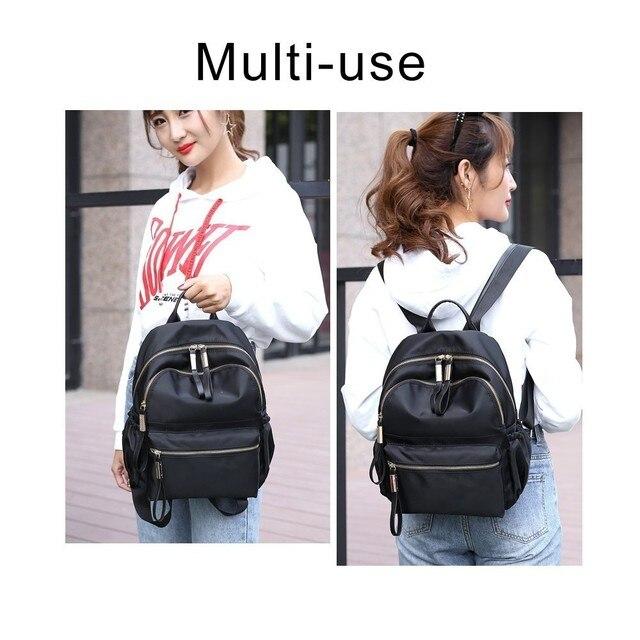 Herald Fashion Backpack Women Leisure Back Pack Korean Ladies Knapsack Casual Travel Bags for School Teenage Girls Bagpack 1