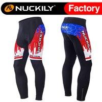 Nuckily Winter mannen nieuwe ontwerp hot selling winter fiets lange fleece panty MF017