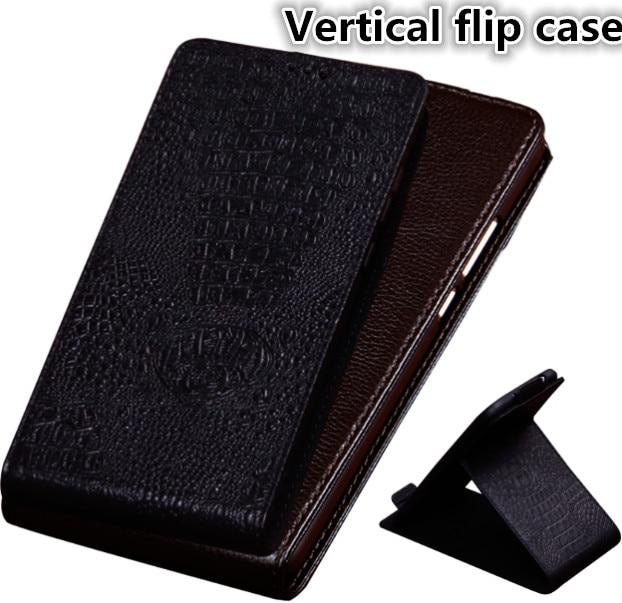 HX16 Luxury Natural Leather Flip Vertical Phone Bag For Asus ZenFone 3 ZE520KL Case For Asus ZenFone 3 ZE520KL Phone Case
