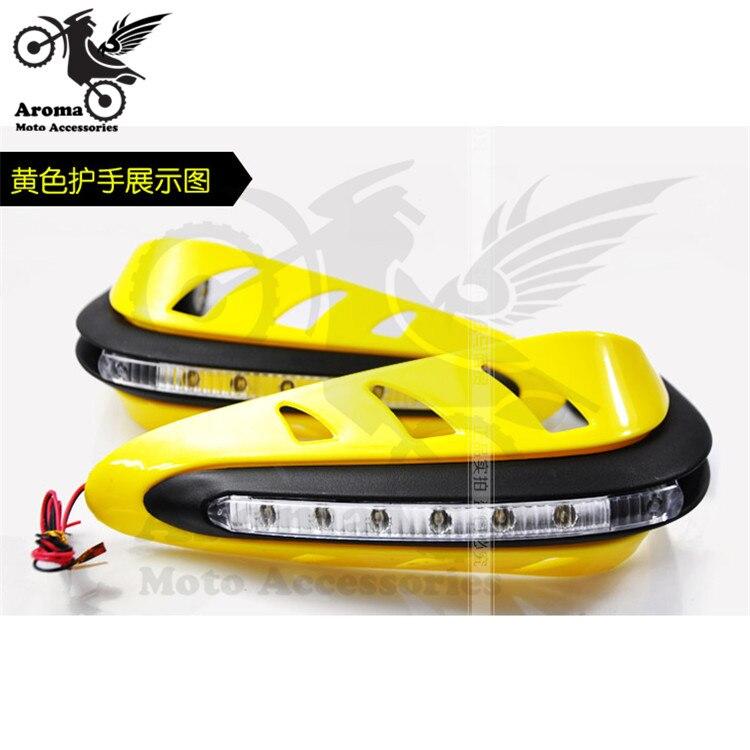 high quality 5 colors pro motorbike Handguard Raptor Hand Guards Motorcycle Handguard for yamaha honda suzuki kawasaki KTM ATV