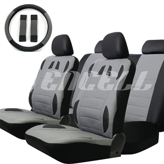 3276b00d18ec Universal 13 Pcs Car Seat Covers Set Sponge PU Car Styling Interior Auto  Accessories Automotive Car Covers for Car Care TS15-in Automobiles Seat ...