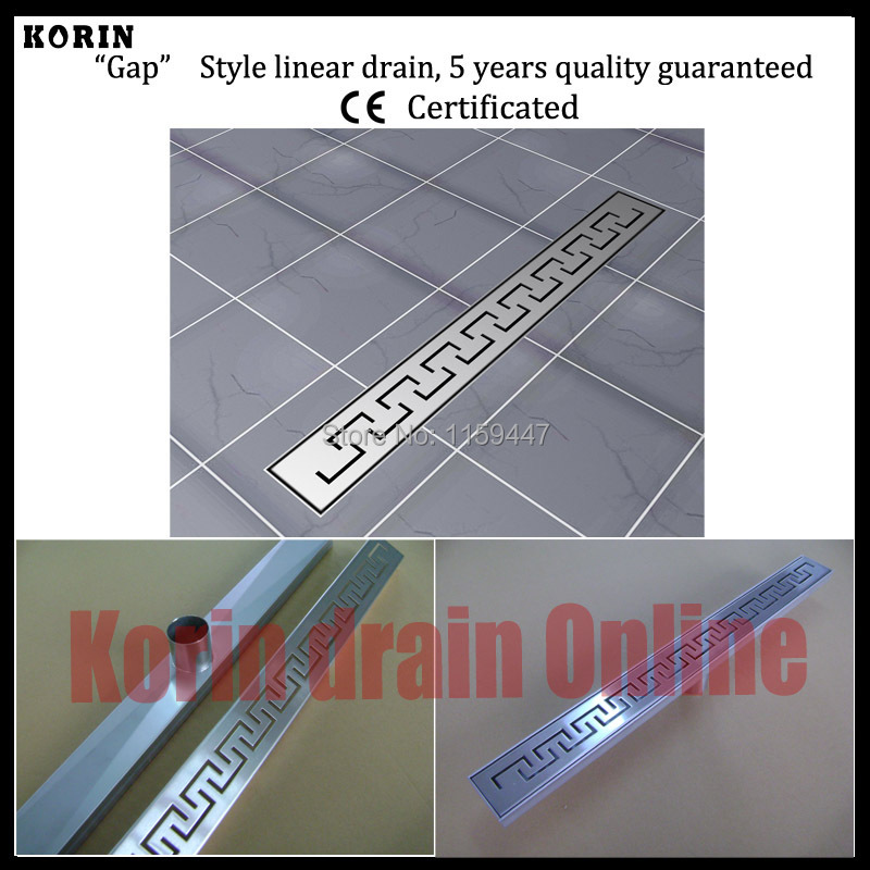 600mm Zipper Style Stainless Steel 304 Linear Shower Drain, Vertical Drain, Floor Waste, Long floor drain, Shower channel 1200mm zipper style stainless steel 304 linear shower drain vertical drain floor waste long floor drain shower channel