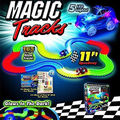 Magic Tracks The Amazing Racetrack that Can Bend Flex Glow 11Ft As Seen on TV Children Kids Toys