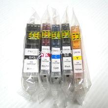 ФОТО 1   PGI-550 CLI-551 Compatible ink cartridge for Canon PIXMA MG5450 PIXMA iP7250 PIXMA MG6350 Europe
