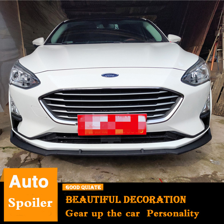 Ford Focus Body Kit >> Us 44 25 41 Off For Ford Focus Front Bumper Diffuser Protector 2018 2019 For Ford Focus Body Kit Spoiler Bumper Car Rear Front Shovel Collision In