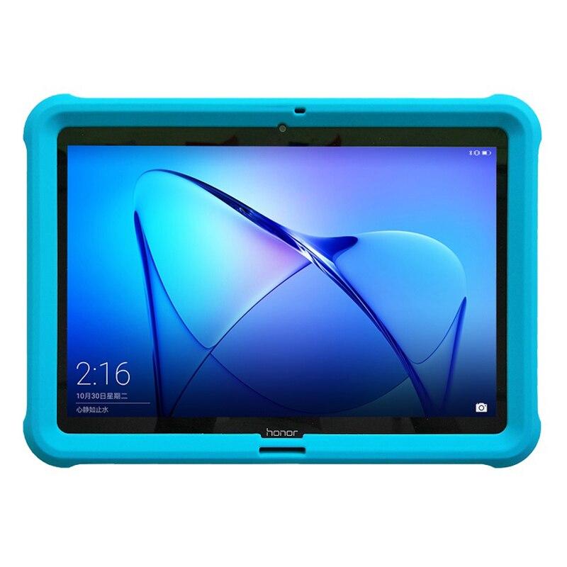 """Image 2 - Huawei mediapad t3 10을위한 mingshore 케이스 huawei t3 10 AGS L09 AGS W09 9.6 """"케이스를위한 튼튼한 실리콘 아이 shockproof 정제 덮개테블릿 & 전자책 케이스컴퓨터 및 사무용품 -"""