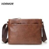 VORMOR New Arrival Famous Brand PU Leather Men Messenger Bags Casual Business Men S Crossbody Bag