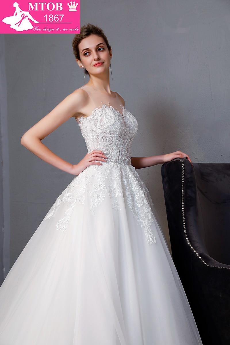 Νέα Άφιξη A-line πολυτέλεια Vintage νυφικό - Γαμήλια φορέματα - Φωτογραφία 5