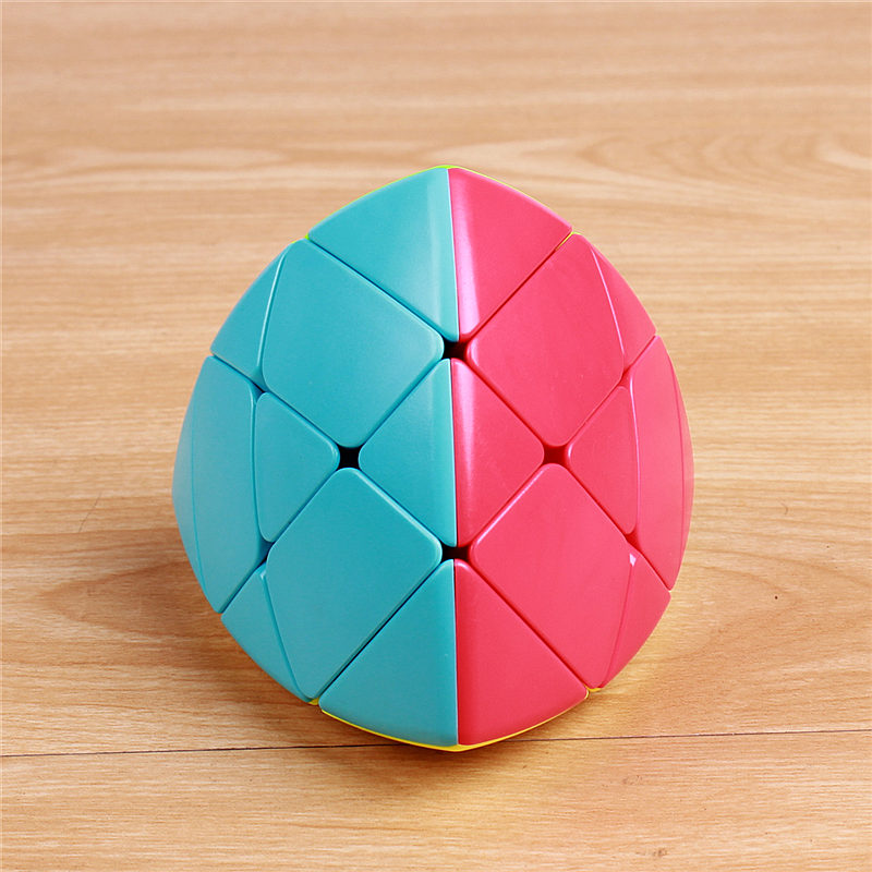 QIYI Mastermorphix Zongzi Dumpling Speed ​​Magic Cube Stickerless Læring Educational Puzzle Cubo Magico Leker