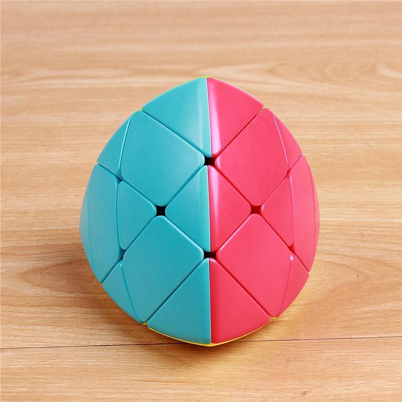 QIYI Mastermorphix Zongzi Dumpling Speed Magic Cube Stickerless Learning Educational Puzzle Toys