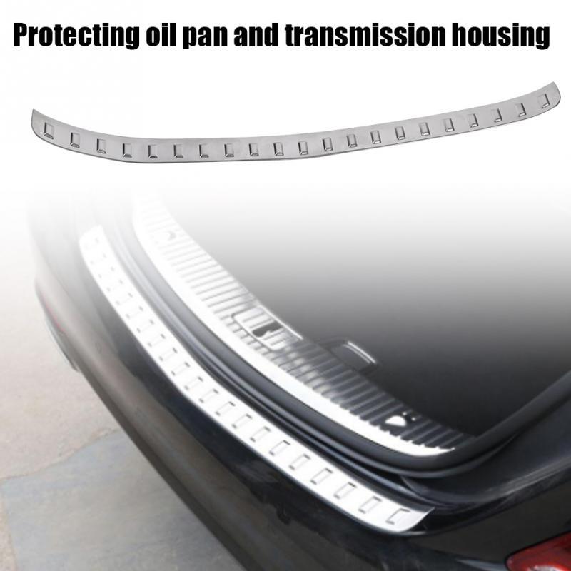 Car Rear Outer Trunk Boot Bumper Guard Molding External Rear Guard Moldings For Mercedes Benz S