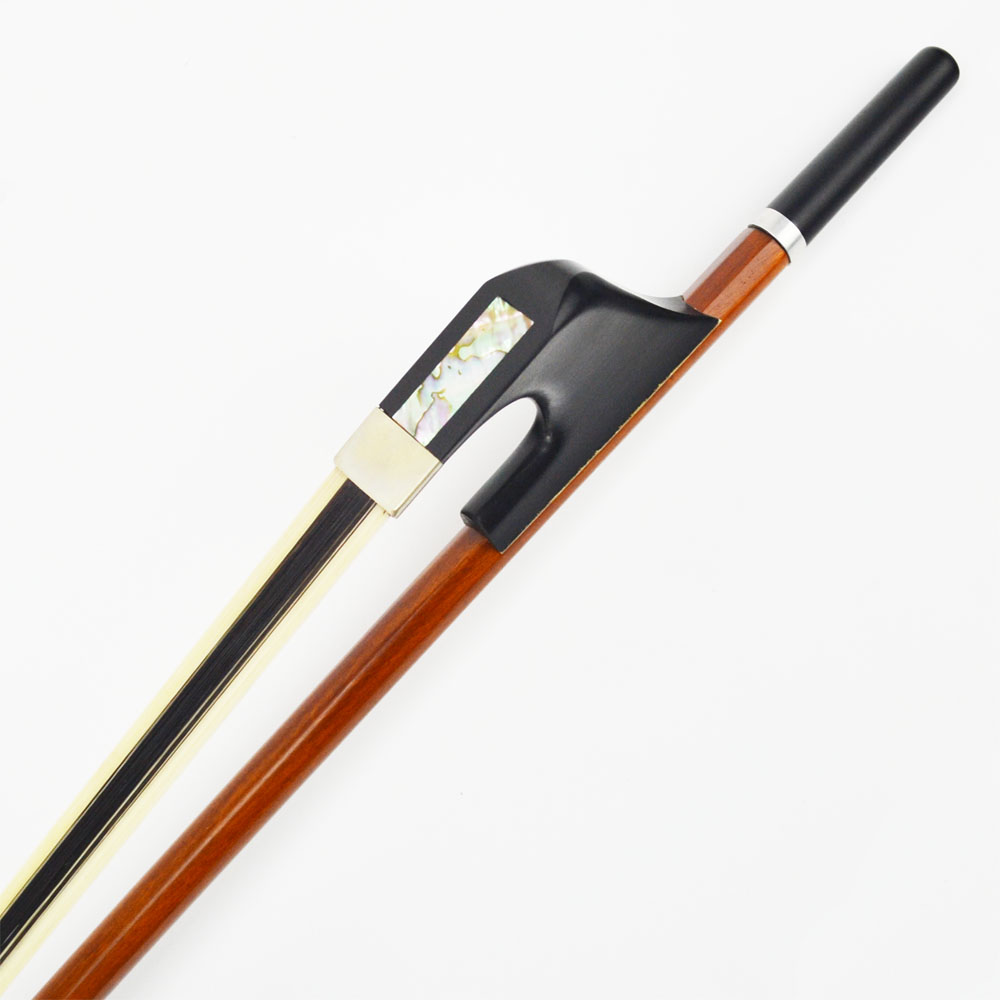 Image 3 - TOP Pernambuco German Double Bass Bow Natural White Hybrid Black Horse Hair Warm Mellow and Wild Tone MELLOR Solo Level S20Gblack horse hairbass bowdouble bass bow -