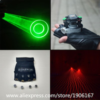 Wholesale Price Green Swril Dancing DJ Led Laser Gloves Party With 2 Pcs Green Lasers 4