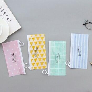 Fashion Make up PVC Zipper Toiletry Travel Wash Toothbrush Cosmetic Bag Wash Pouch Organizer Bag Portable Woman Makeup Bag Cosmetic Bags