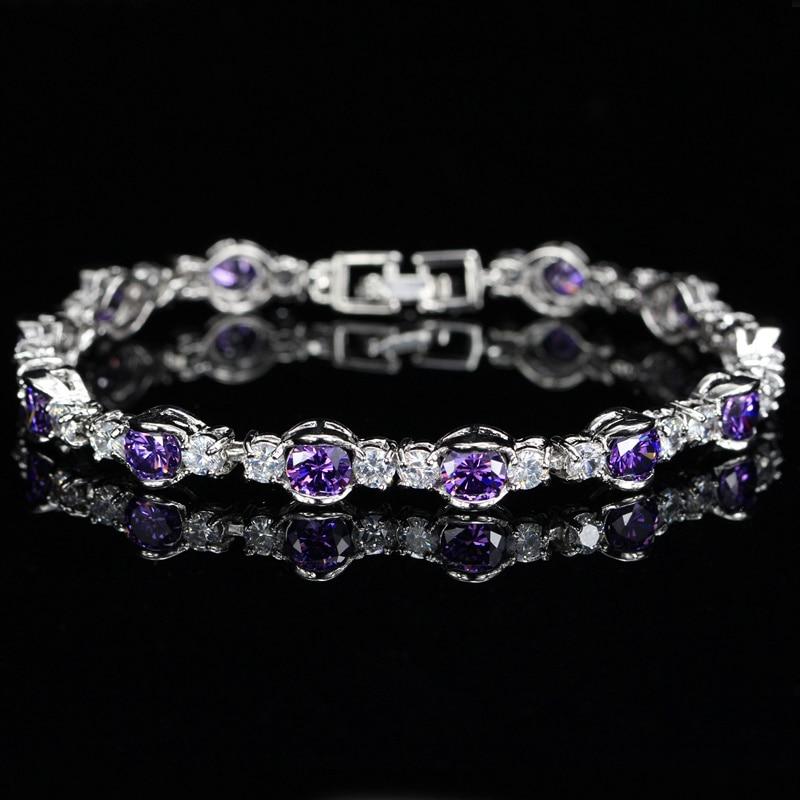 Amethyst Purple Bracelets