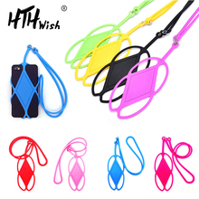 phone necklace Cell Phone lanyard neck Holder Case Cover Neck Strap Necklace Sling For Smartphone strap for