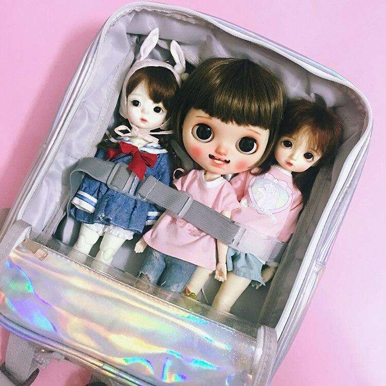 2019 New 1/4 1/6 Doll Bag Outgoing Packets For Blythe 30cm Doll Accessories Doll Storage Bag Shoulder Bag
