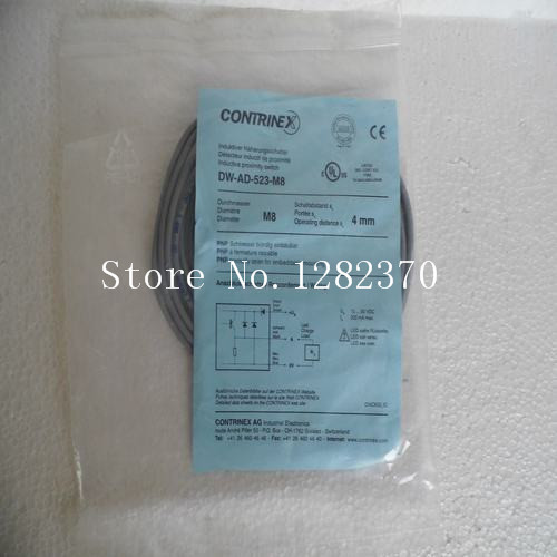 [SA] New original authentic special sales CONTRINEX sensor switch DW-AD-523-M8 spot[SA] New original authentic special sales CONTRINEX sensor switch DW-AD-523-M8 spot