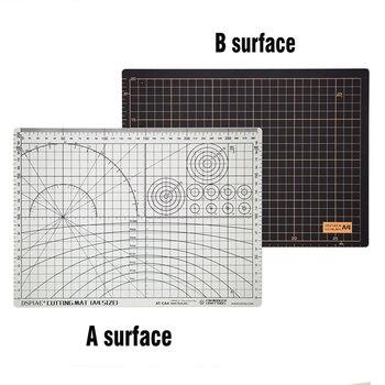 Nowy product dwustronny kolor czarno-biały materiał przyjazny dla środowiska mata do cięcia A4 Model Hobby akcesoria narzędzia