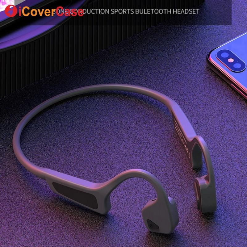 Sans fil Écouteurs à Conduction Osseuse pour Huawei Compagnon 20 pro X 10 lite 9 7 8 Nova 4 3 3e 3i 2 2 s plus Bluetooth casque avec micro