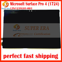 New Original LCD Assembly For Microsoft Surface Pro 4 1724 LTN123YL01 001 LCD Display Touch Screen