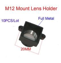 DIY 10PCS/Lot M12 MTV Mount Interface Full Metal CCTV Security Camera Lens Holder Support PCB Board Module Lens Mount Connector
