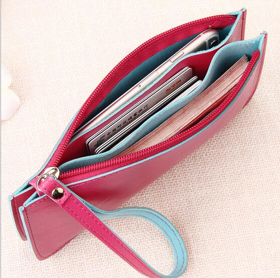 2017 New Hot Patent Leather Zipper Cute Wallets Women Small Red Purse Ladies Fashion Billeteras mujer Cartera Portefeuille Femme